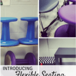 Introducing flexible seating in the music room: Blog post with many different ways to have students try out the seats in your room!