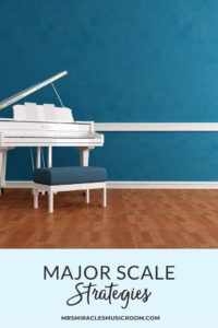 Strategies for teaching the major scale: A singing game, hands-on manipulatives, and instrument ideas for teaching the do major scale!
