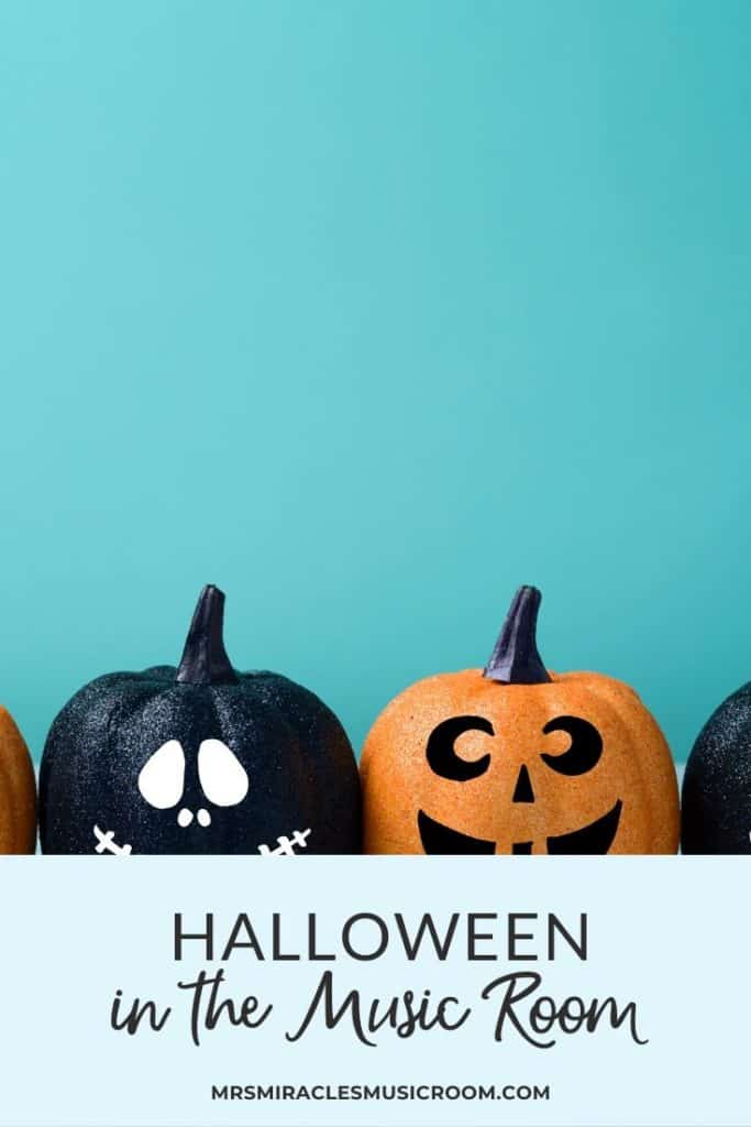 Ten tricks and treats for Halloween in the music room: ten fun activities to try in your elementary music lessons!