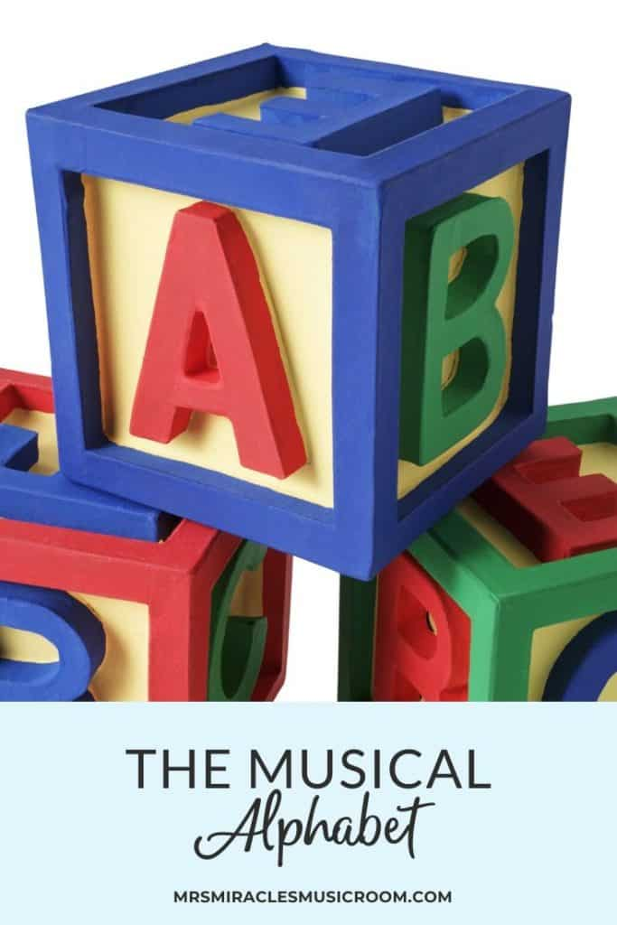 The musical alphabet and the treble clef: Teaching note reading on the treble clef staff during your music lessons
