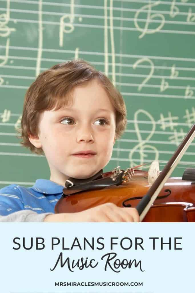 Sub plans for the music classroom: Ideas for creating your sub tub, sub plan ideas, and more!