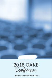 2018 OAKE Conference: Songs, games, and activities learned at the 2018 Organization of American Kodály Educators Conference