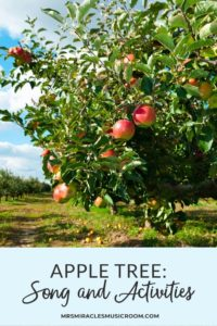 Ideas for the song Apple Tree: Podcast with strategies for teaching beat, melody, partwork, and more!
