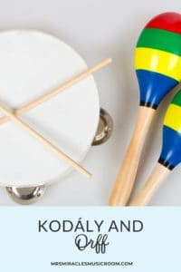 Thoughts, ideas, and reflections about blending the Kodály and Orff philosophies in the elementary music classroom