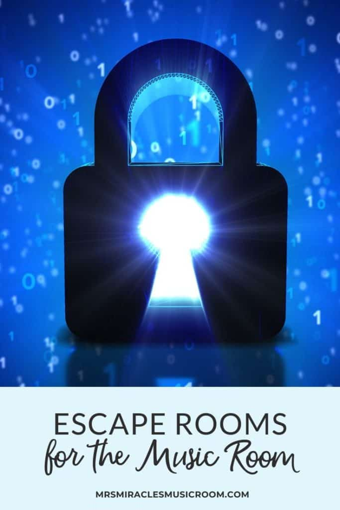 Escape Rooms in the Music Classroom: Ideas for running your own Escape Room