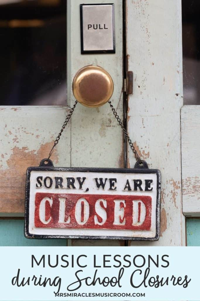 Music Lessons During School Closures: How to compile and create lessons for online learning during school closures, such as closing for COVID-19