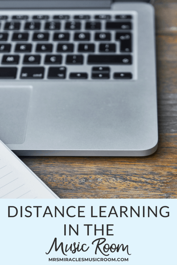 Thoughts on distance learning in the music room