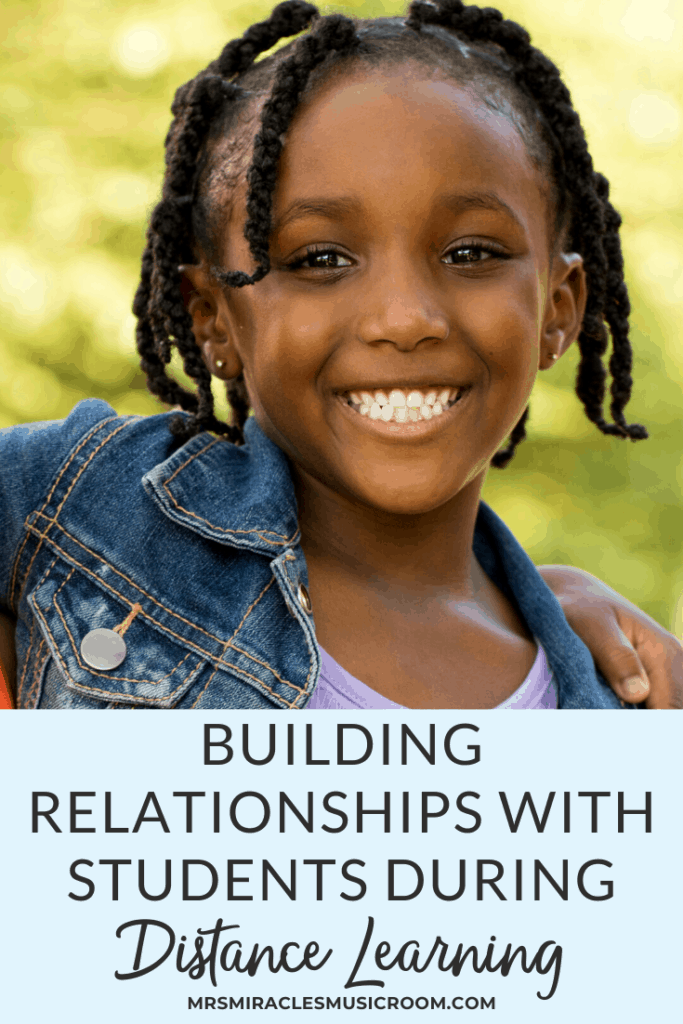 Building relationships with students during distance learning in the music room: Five ways to build connections, including video conferencing, Flipgrid, and more!