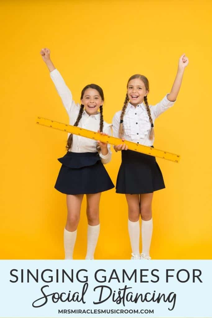 Singing games for social distancing: How to keep students engaged while socially distancing