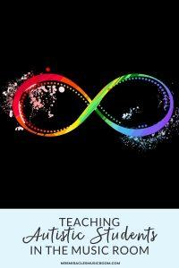 Rainbow infinity symbol on white background
